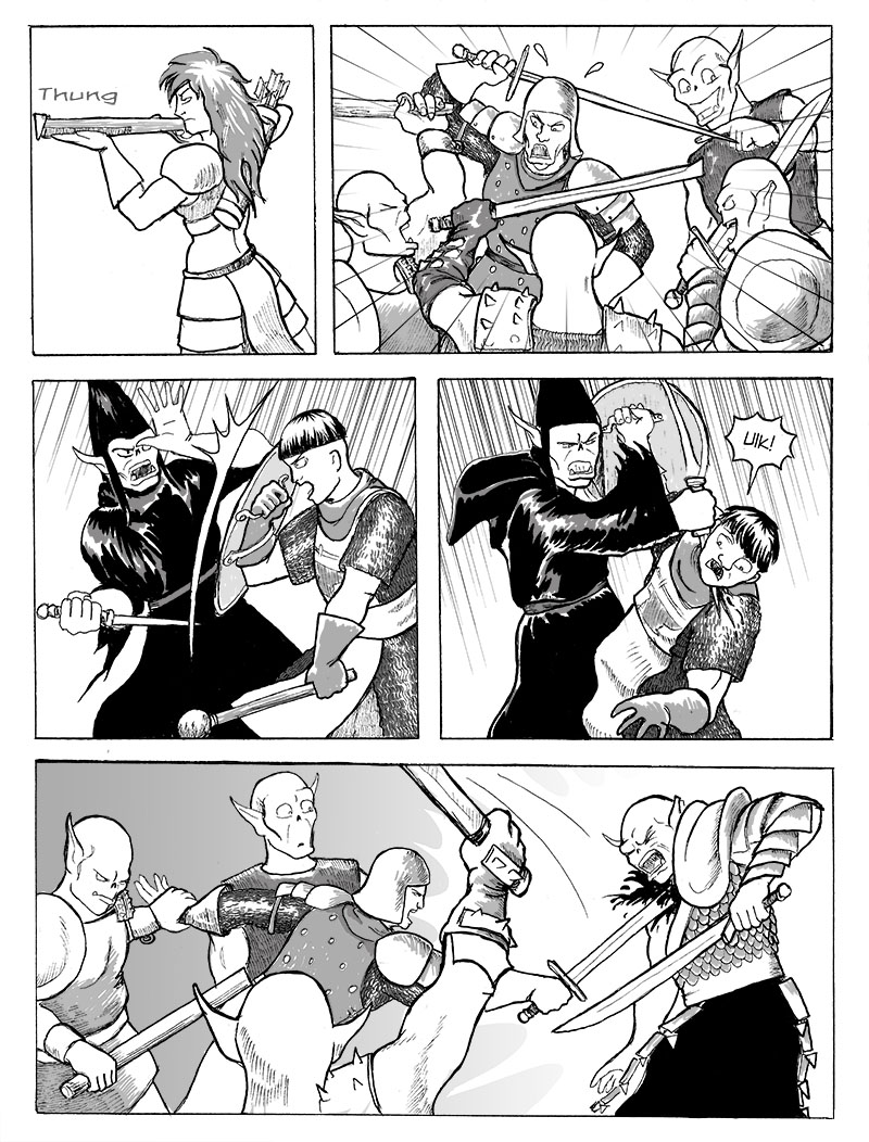 The Fight in Front of the Cave, Part 6